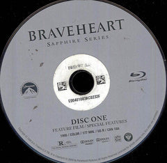 Braveheart (Blu-ray) (Single Disc) (Disc Only)