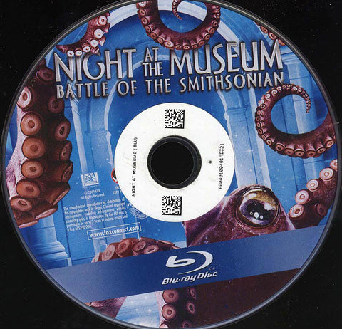 Night at the Museum: Battle of the Smithsonian (Blu-ray) (Single Disc) (Disc Only) BLU-RAY Movie
