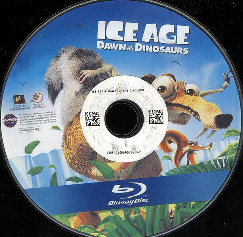 Ice Age: Dawn of the Dinosaurs (Blu-ray) (Single Disc) (Disc Only) BLU-RAY Movie