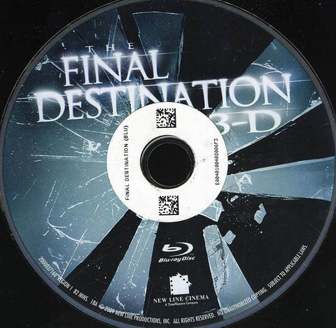 The Final Destination (Blu-ray) (Disc Only) BLU-RAY Movie