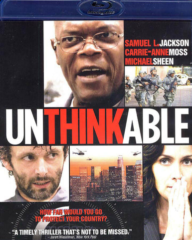 Unthinkable / Impensable (Bilingual) (Blu-ray) BLU-RAY Movie