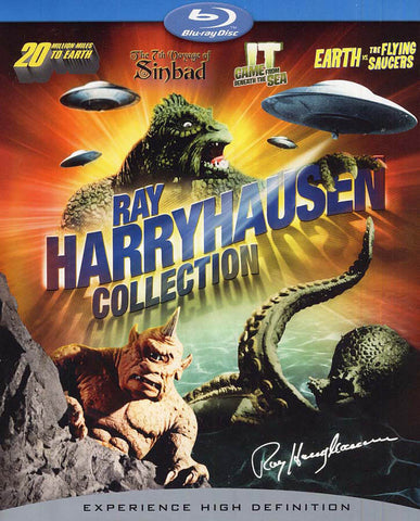 Ray Harryhausen Collection (Boxset) (Blu-ray) BLU-RAY Movie