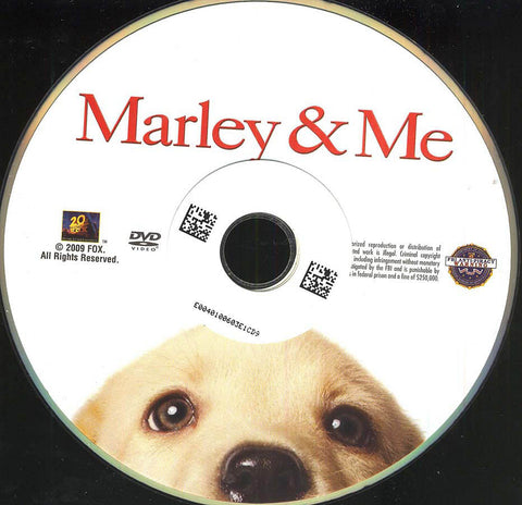 Marley and Me (Disc Only) DVD Movie