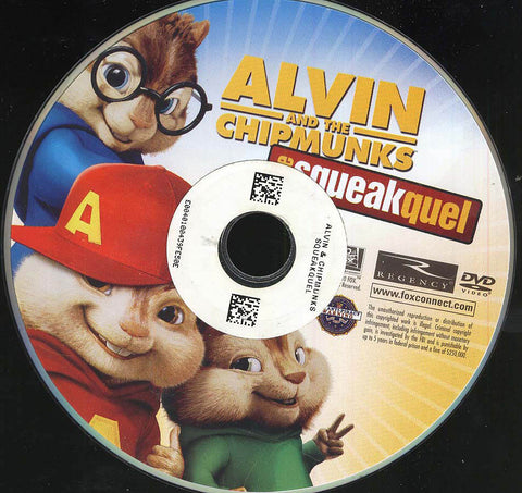 Alvin and the Chipmunks: The Squeakquel (Disc Only) DVD Movie
