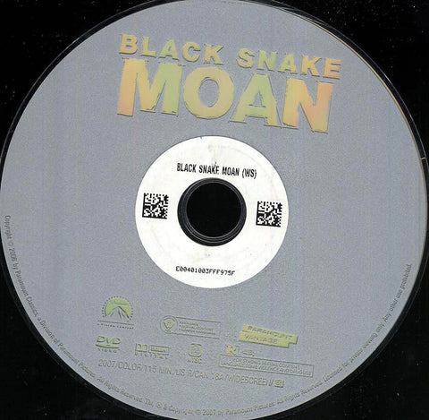 Black Snake Moan (Disc Only) DVD Movie
