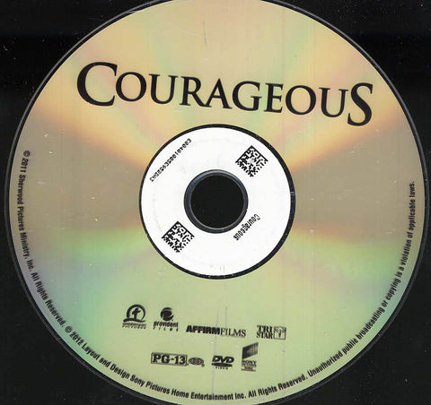 Courageous (Disc Only) DVD Movie