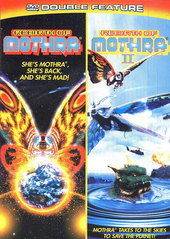 Rebirth of Mothra / Rebirth of Mothra II (Double Feature) DVD Movie