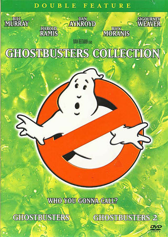 Ghostbusters Collection - 1 and 2 (Double Feature) DVD Movie