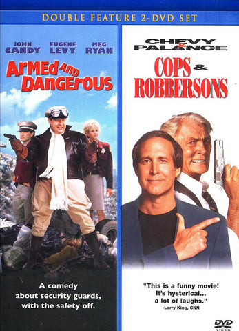 Armed and Dangerous / Cops and Robbersons (Double Feature) DVD Movie