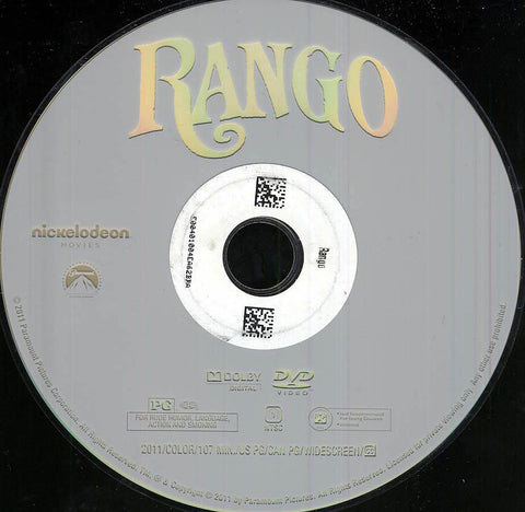 Rango (Disc Only) DVD Movie