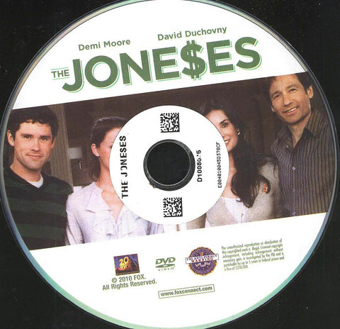 The Joneses (Disc Only) DVD Movie