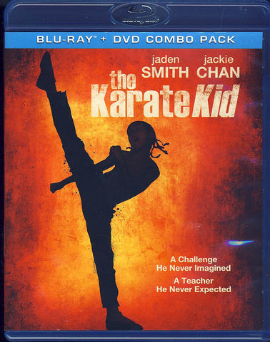 The Karate Kid (Blu-ray + DVD Combo pack) (Blu-ray) BLU-RAY Movie