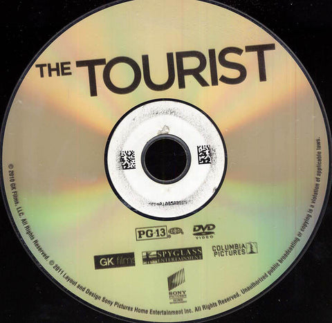 The Tourist (Disc Only) DVD Movie