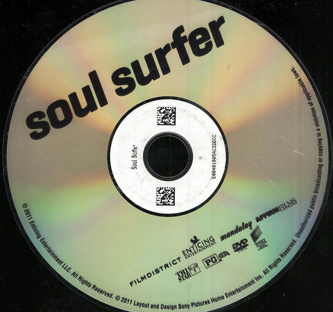 Soul Surfer (Disc Only) DVD Movie