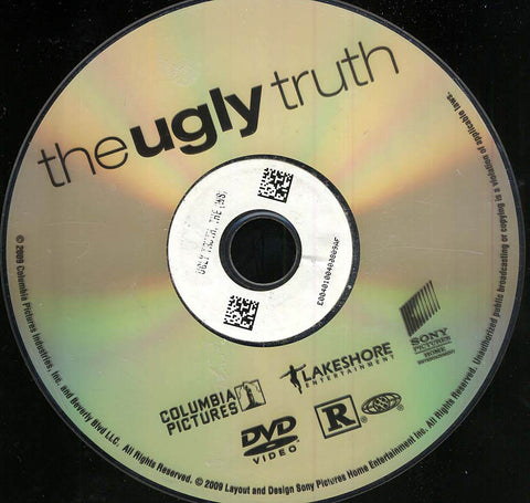 The Ugly Truth (Disc Only) DVD Movie