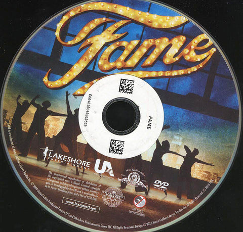 Fame (Disc Only) DVD Movie