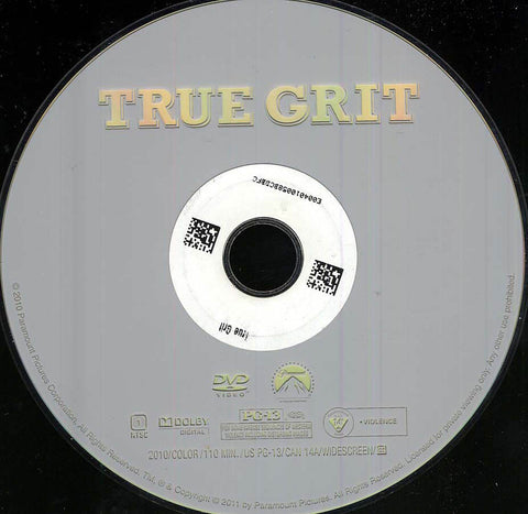 True Grit (Disc Only) DVD Movie