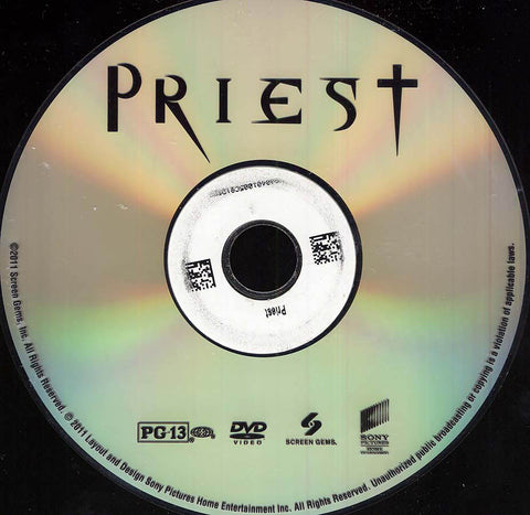 Priest (Disc Only) DVD Movie