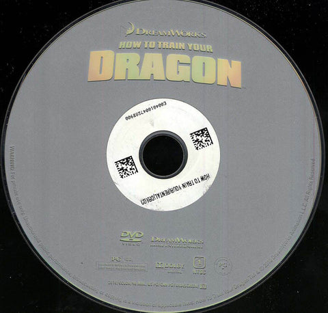How to Train Your Dragon (Disc Only) DVD Movie