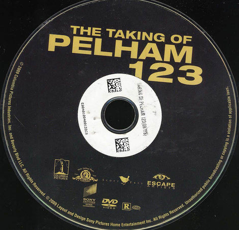The Taking of Pelham 1 2 3 (Disc Only) DVD Movie