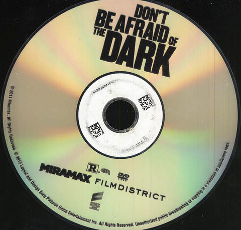 Don't Be Afraid of the Dark (Disc Only) DVD Movie