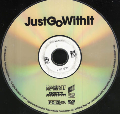 Just Go With It (Disc Only) DVD Movie