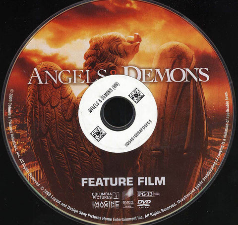 Angels & Demons (Disc Only) DVD Movie
