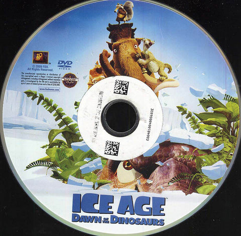 Ice Age: Dawn of the Dinosaurs (Disc Only) DVD Movie