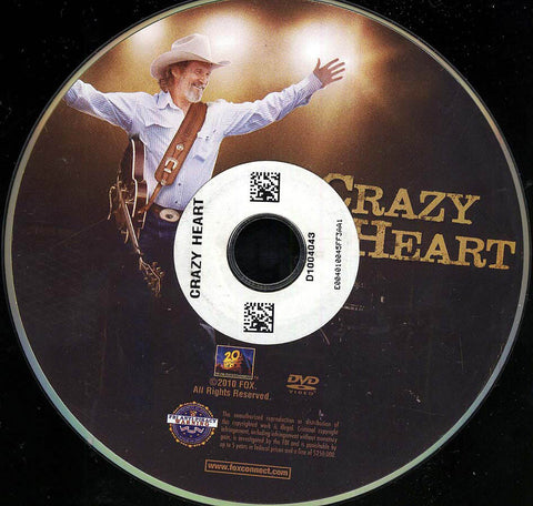 Crazy Heart (Disc Only) DVD Movie