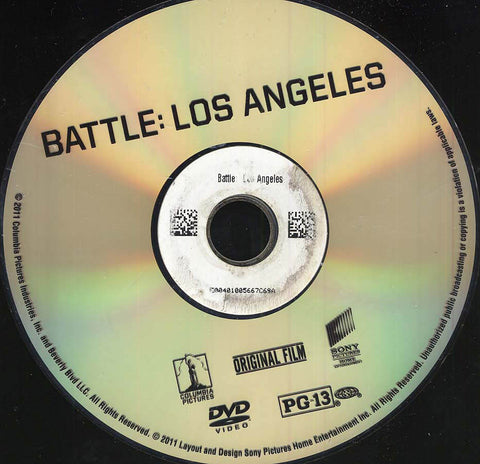 Battle: Los Angeles (Disc Only) DVD Movie