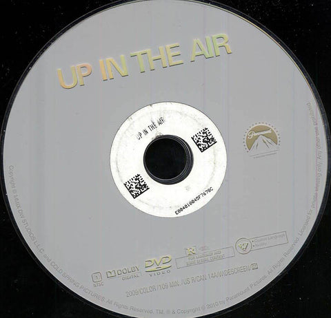 Up in the Air (Disc Only) DVD Movie