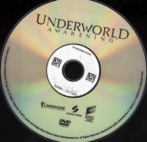 Underworld: Awakening (Disc Only) DVD Movie