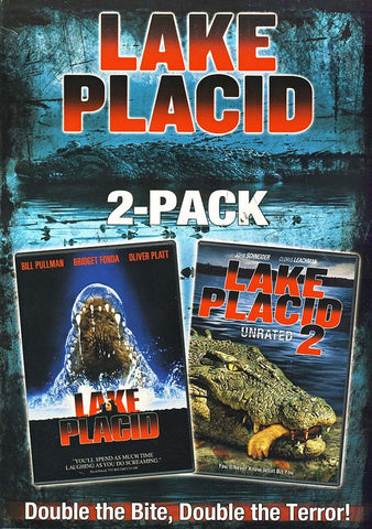 Lake Placid (2 Pack) (Boxset) DVD Movie
