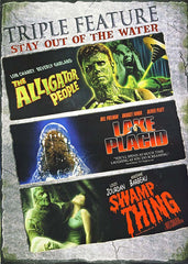 The Alligator People / Lake Placid / Swamp Thing (Triple Feature)