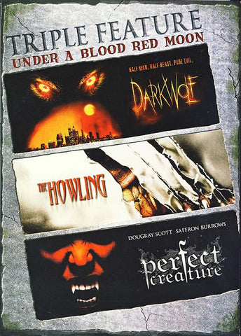Dark Wolf / The Howling / Perfect Creature - (Triple Feature) DVD Movie