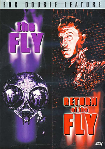 The Fly (1958) / Return of the Fly (1959) DVD Movie