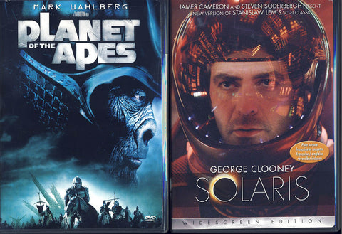 Planet Of The Apes / Solaris (Bilingual) (2 pack) (Boxset) DVD Movie