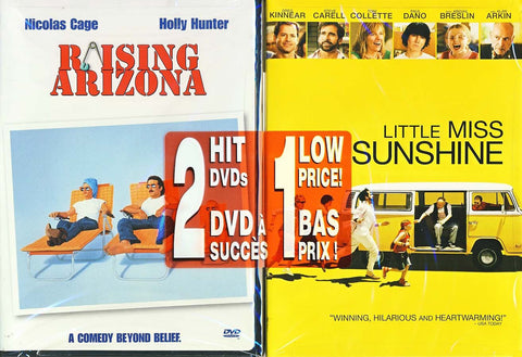 Little Miss Sunshine/raising Arizona (2 pack) DVD Movie