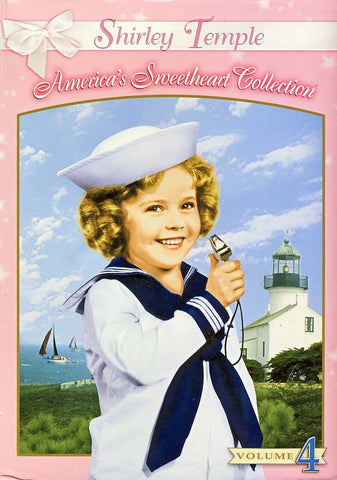 Shirley Temple - America's Sweetheart Collection - Vol. 4 (Boxset) DVD Movie