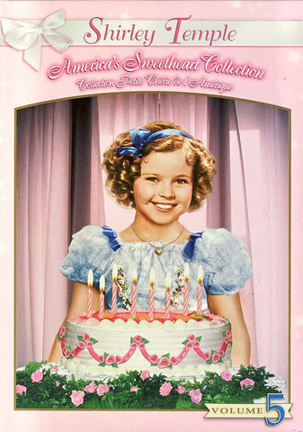 Shirley Temple - America's Sweetheart Collection - Vol. 5 (Boxset) DVD Movie