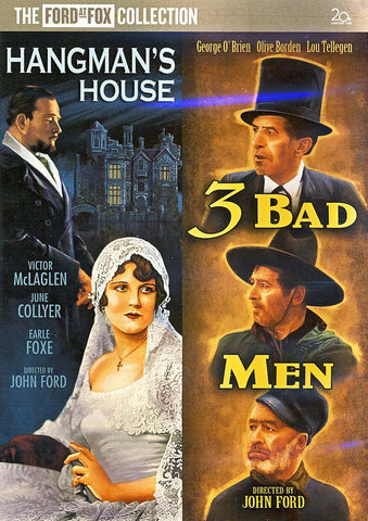 Hangman's House / 3 Bad Men (Double Feature) DVD Movie