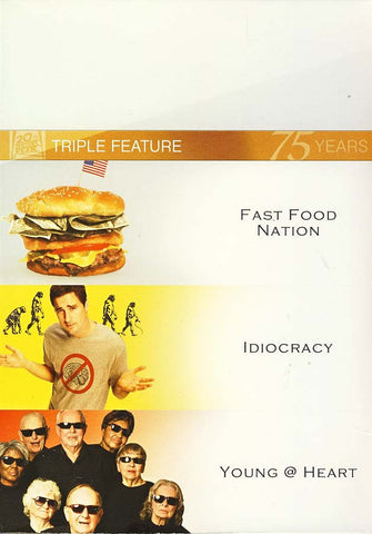 Fast Food Nation/Idiocracy/Young at Heart (Fox Triple Feature) (Boxset) DVD Movie