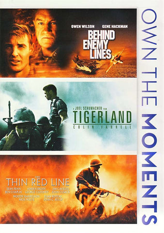 Behind Enemy Lines / Thin Red Line / Tigerland (Triple Feature) DVD Movie
