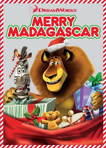 Merry Madagascar (Christmas Special) DVD Movie