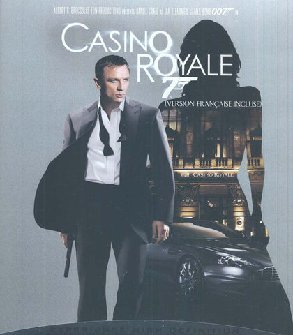 Casino Royale (James Bond) (Bilingual) (Blu-ray) BLU-RAY Movie