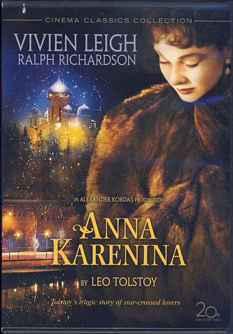 Anna Karenina (Vivien Leigh) DVD Movie