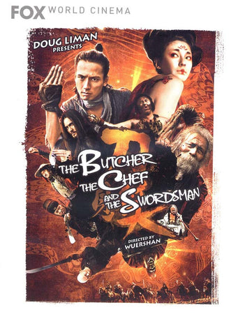 The Butcher, the Chef, and the Swordsman DVD Movie