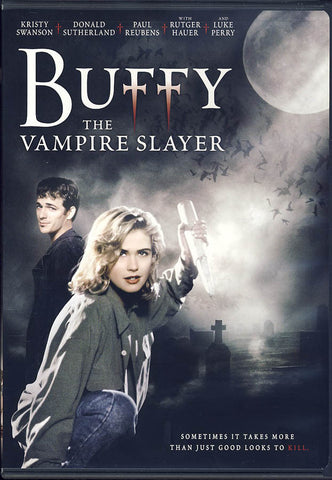Buffy The Vampire Slayer (Black cover) DVD Movie