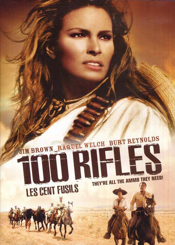 100 Rifles (Les Cent Fusils) (Bilingual) DVD Movie