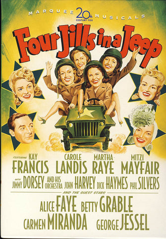 Four Jills in a Jeep DVD Movie